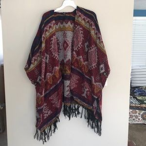 Forever 21 Shawl Sweater